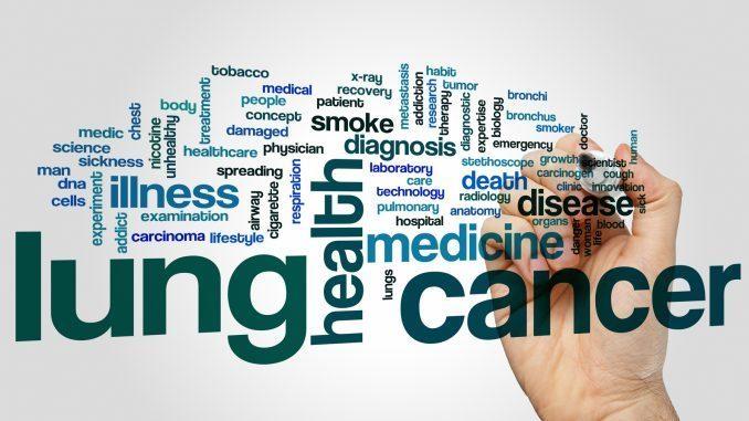 סי בי די לטיפול בסרטן הריאות